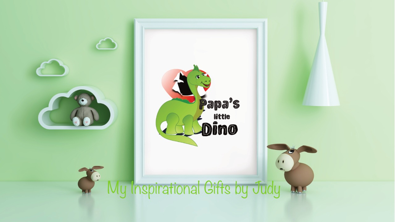 Dino mockup for FB promo